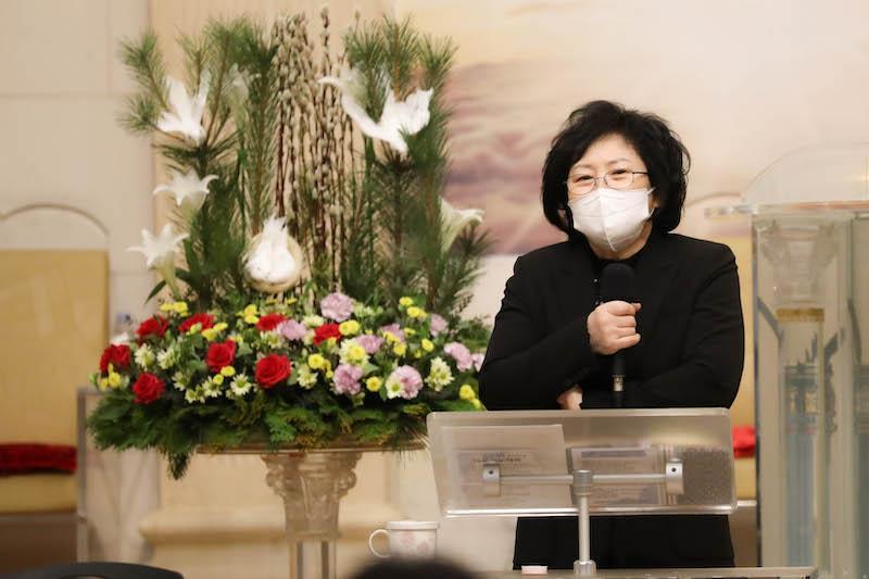 온화한 미소의 유 목사님