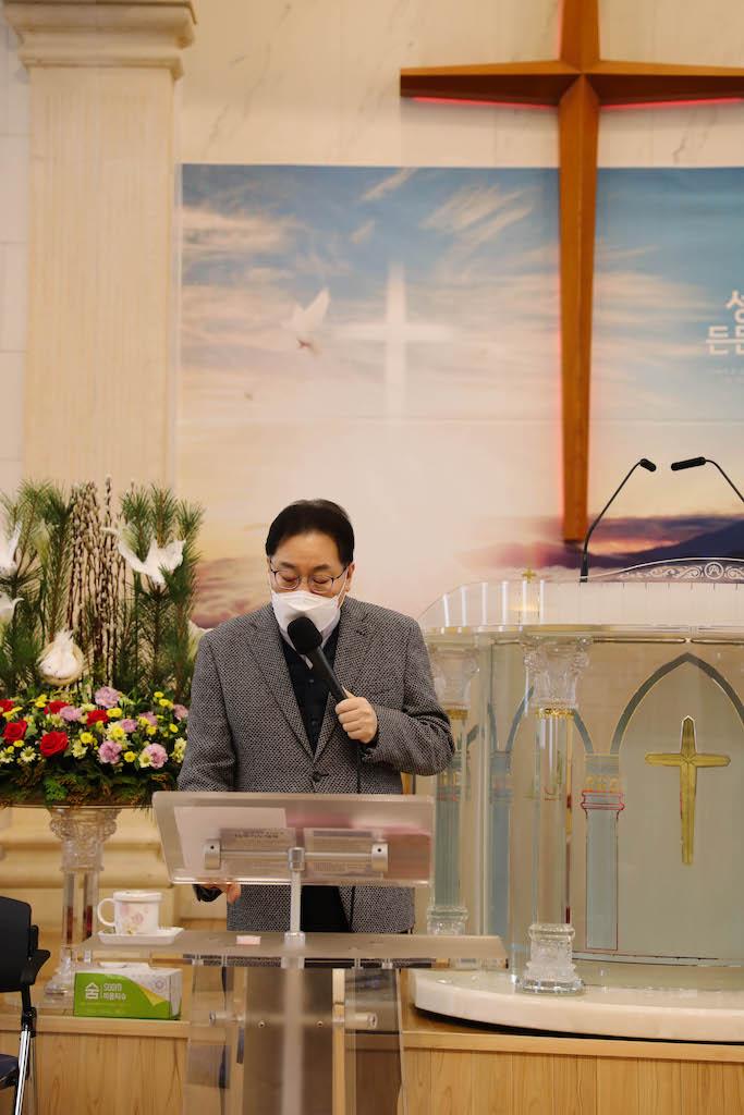 십자가와 담임 목사님